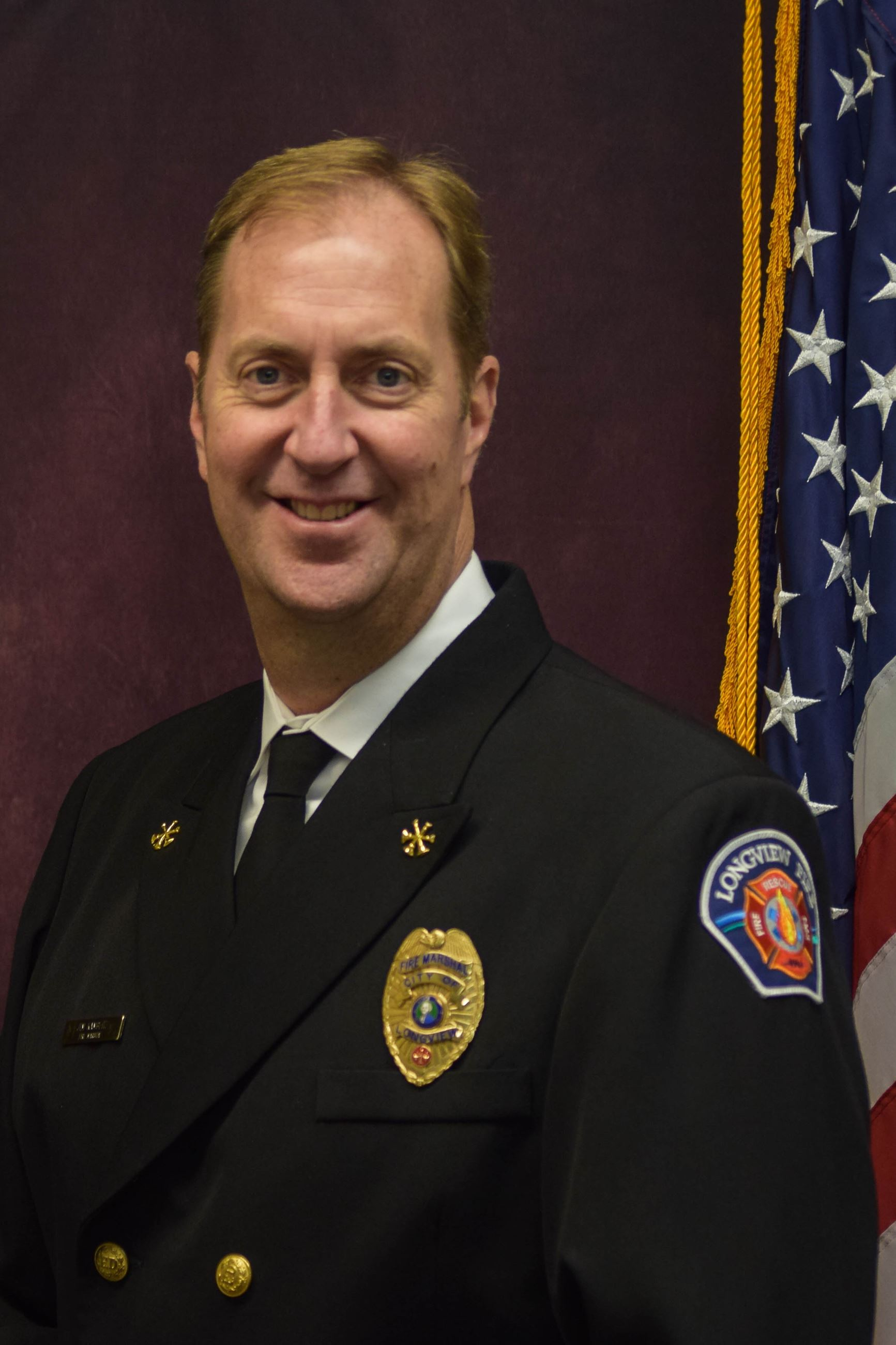 Interim Fire Chief Jim Kambeitz
