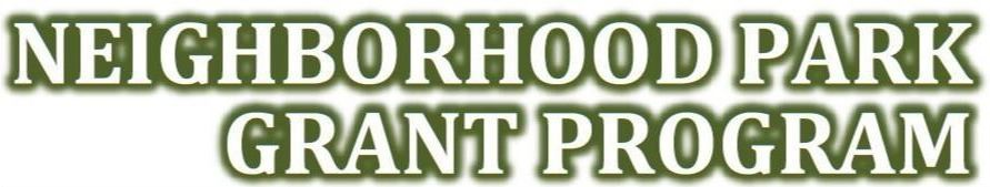 Neighborhood Park Grant Logo