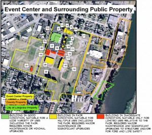 Event Center Master Plan area