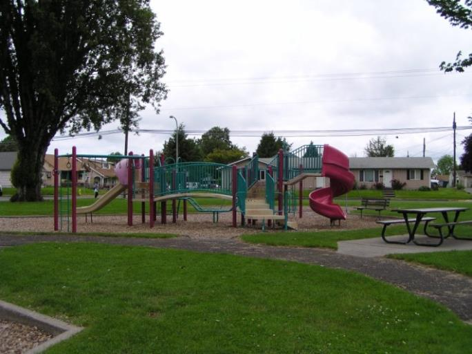 Playground Structure at Archie Anderson Park